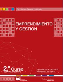Libro de emprendimiento y gestión segundo de bachillerato 2 BGU