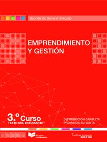 libro de emprendimiento y gestion tercero de bachillerato